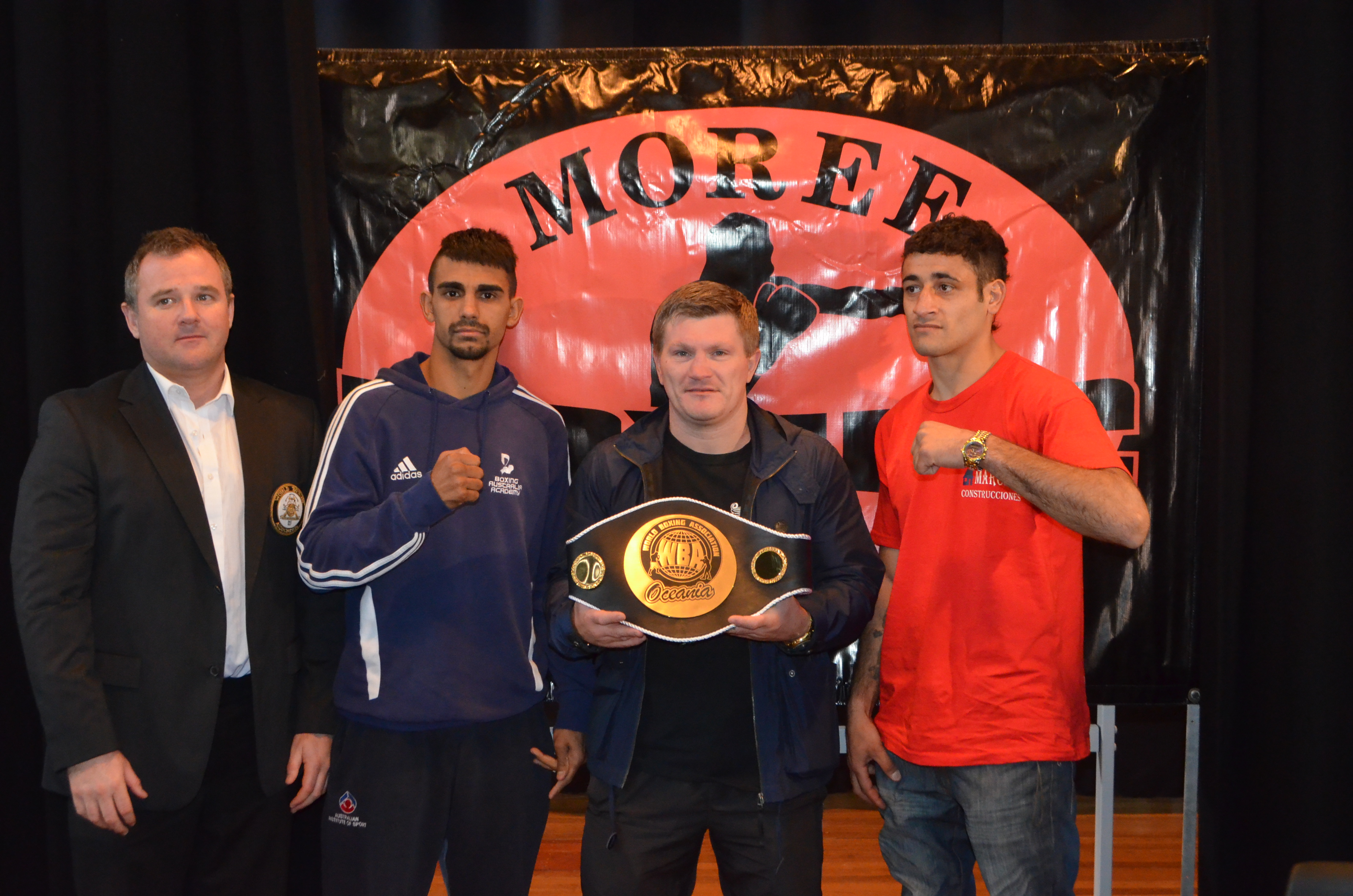 WBA Oceania Press Conference in Moree