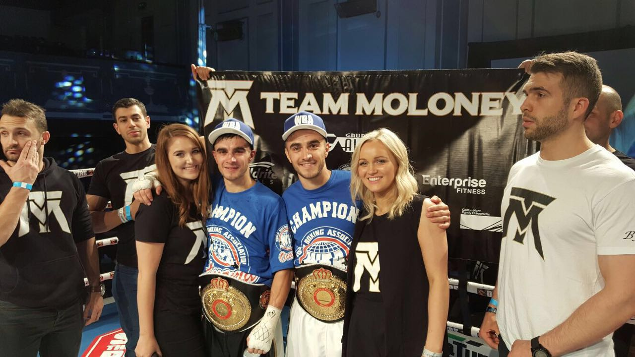 Top Rank inks Moloney Twins