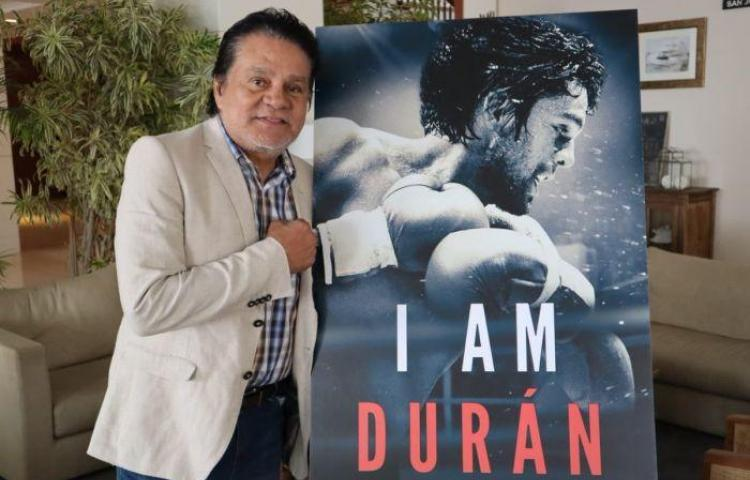 "Roberto Duran presented his documentary ""I AM DURAN"" in Panama."
