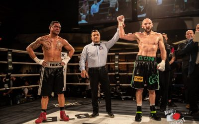 Caparello Wins By TKO